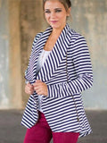 Start Me Up Stripe Outerwear - FIREVOGUE