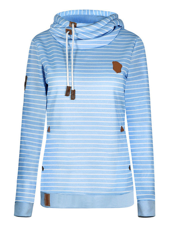 Straight Away Hooded Sweatshirt - FIREVOGUE