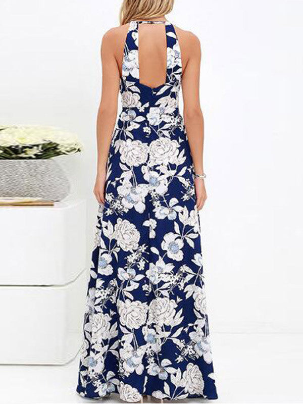 Flower Place Flower Time Maxi Dress - FIREVOGUE