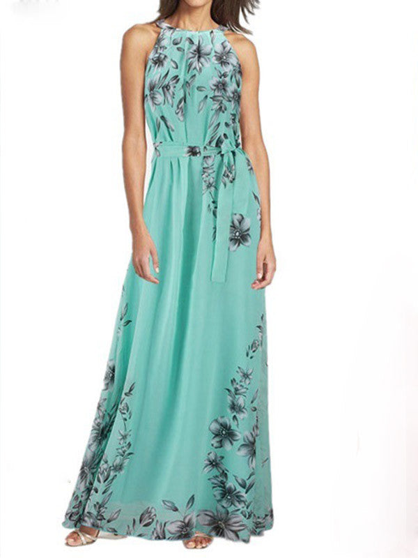 Tell Me About It Floral Maxi Dress