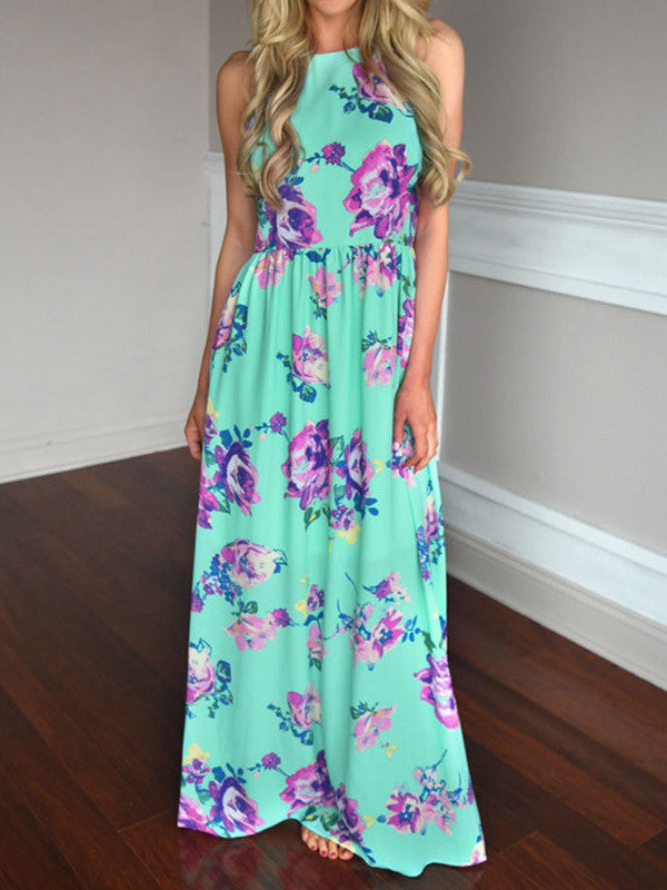 Somebody to Love Floral Maxi Dress