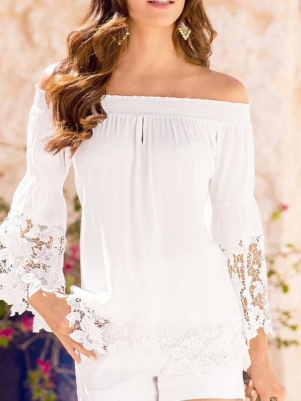 Open to Anything Lace Top - FIREVOGUE