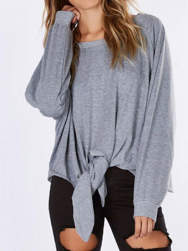 Women Casual Long Sleeve Loose Sweatshirt