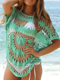 Knitted Crochet Bikini Cover-up