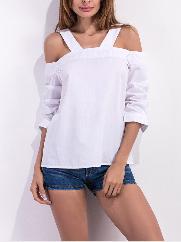 It Takes Two Cold Shoulder Top
