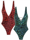 Real Mermaid One-piece Swimsuit