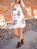 Love Mail Floral Sleeveless Dress