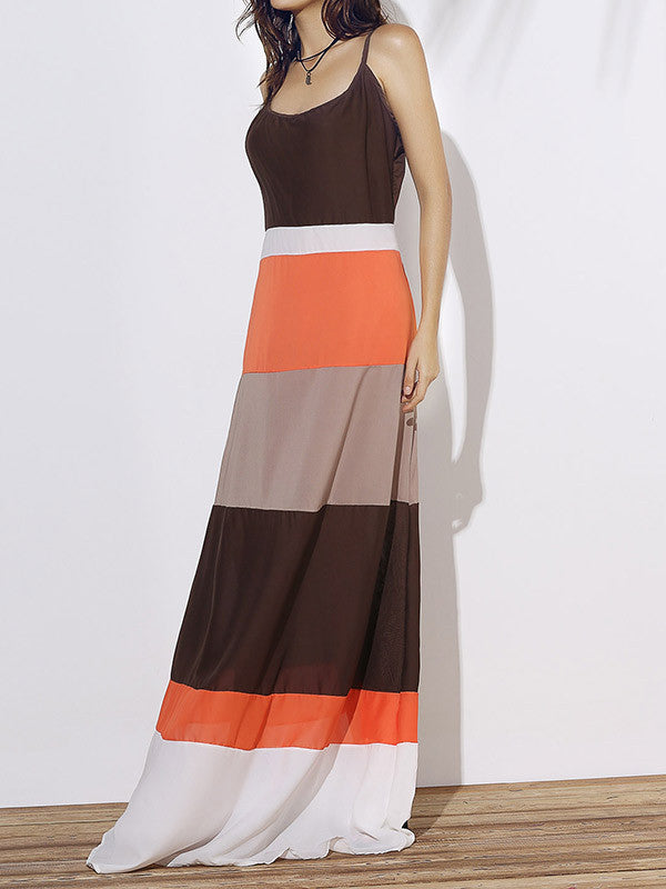 Life in Color Sleeveless Maxi Dress