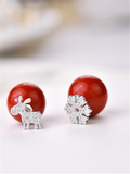 You Should Have This Fashionable Romantic Christmas Earrings - FIREVOGUE