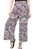 High There Printed Wide-Leg Pants