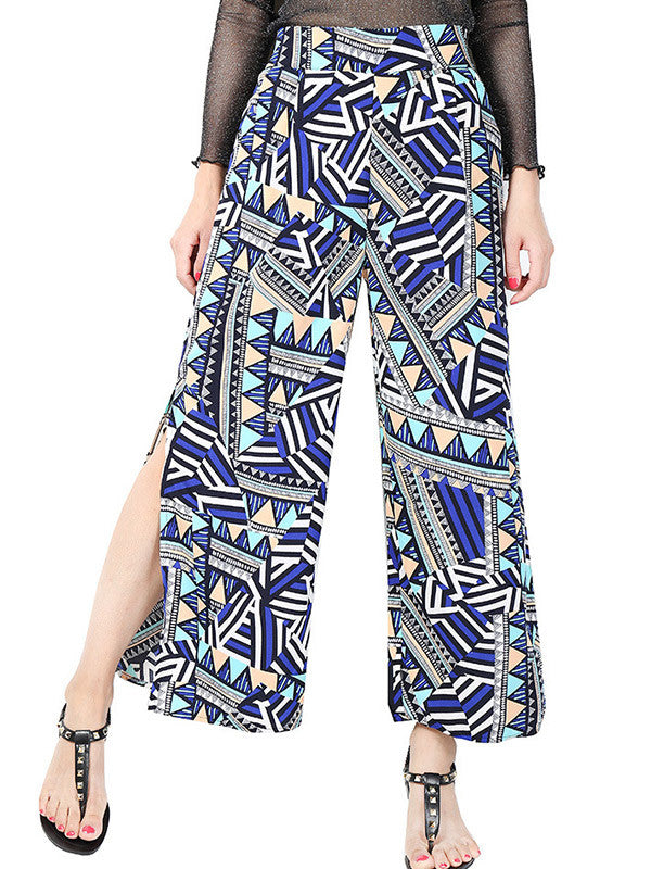 Go Far Wide-Leg High-Waisted Pants
