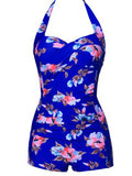 Say It With Flowers Vintage One-piece Swimsuit