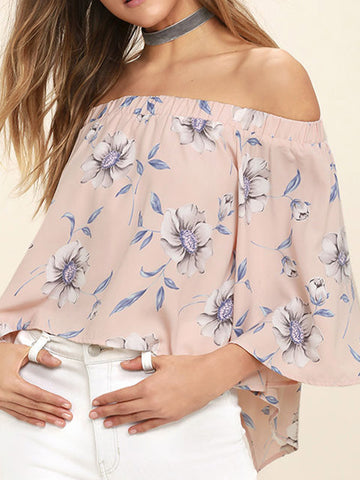 Never Enough Off-the-shoulder Top