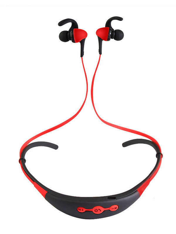Stereo Neckband Wireless Sports Bluetooth Headset 4.1