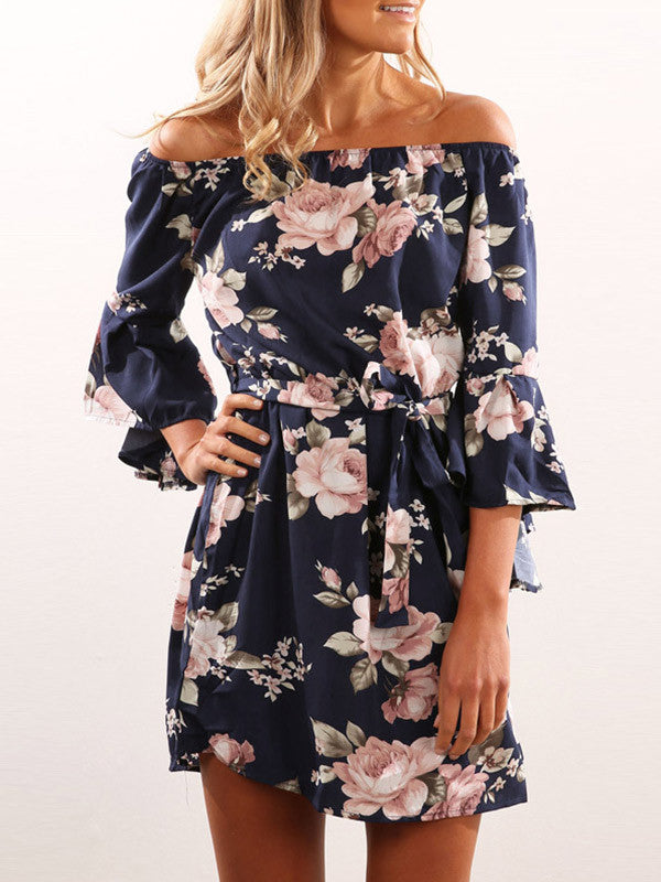 Sits Well With You Off-the-Shoulder Dress