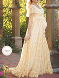 Love Her Elegance Lace Maxi Dress