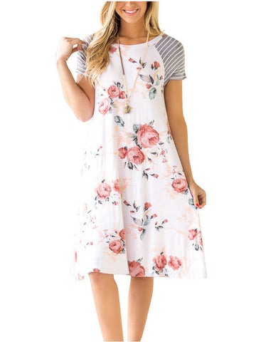 Give Me Flowers Casual Dress