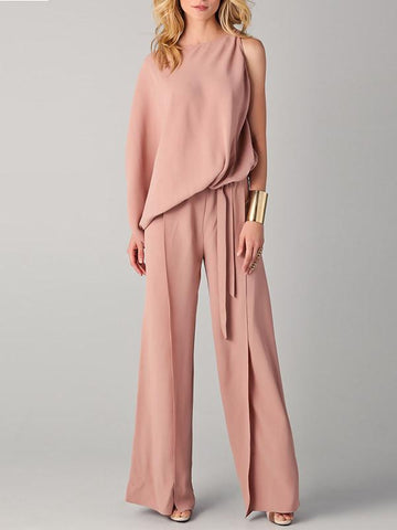 Sexy Long Wide Leg Jumpsuits Rompers