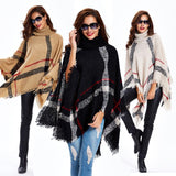 Women Fashion Loose Cloak Coat Jacket Shawl Scarf