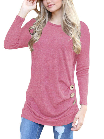 Woman's World  Button Casual Top