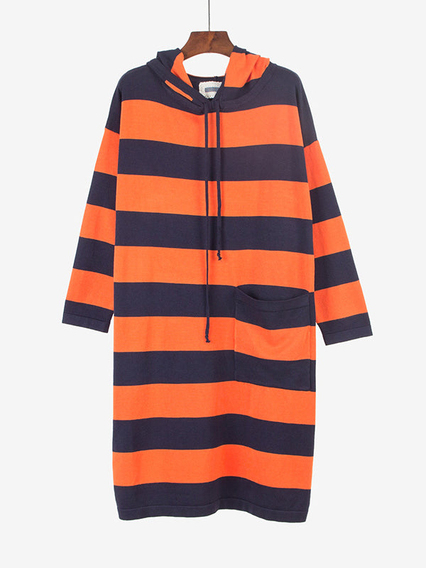 Only After You Striped Hooded Dress