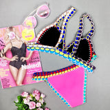 Queen of Dreams Ice-cream Color Bikini Sets - FIREVOGUE