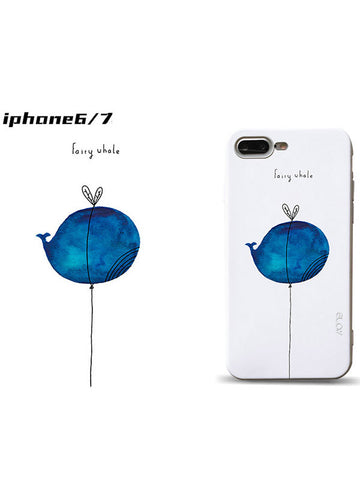 iPhone Cute Cartoon Protective Phone Case