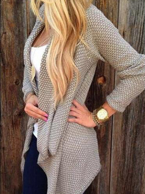 Open Front Unlined Cardigan
