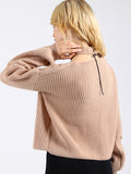 What's Knit to Love Relaxed Sweater - FIREVOGUE