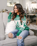Fashion Women Christmas Pattern Sweater - WealFeel