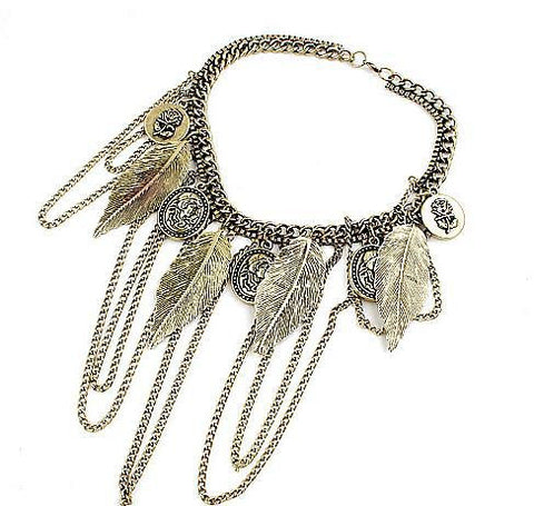 Punk Style Vintage Necklace