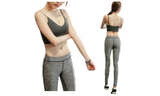 Have Fun Yoga Fitness Sports Suits (Top + Pant) - FIREVOGUE