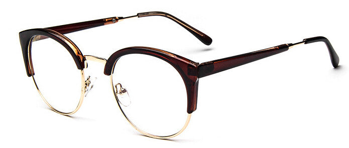 Metal-rimmed Glasses Frame - FIREVOGUE