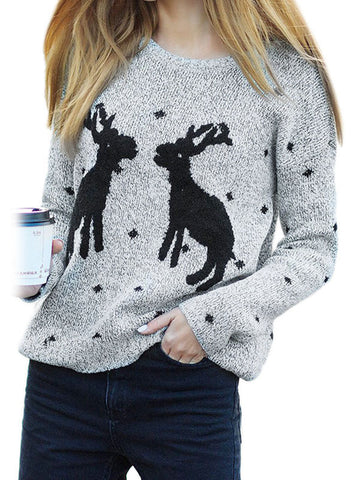 All I Want For Christmas Deer Sweater