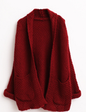 Hold Me Tight Pure Color Sweater - FIREVOGUE