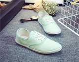 Candy Color Canvas Shoes - FIREVOGUE
