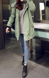 Keep It Casual Hooded Coat - FIREVOGUE