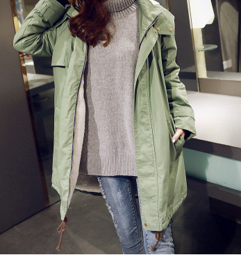 Keep It Casual Hooded Coat