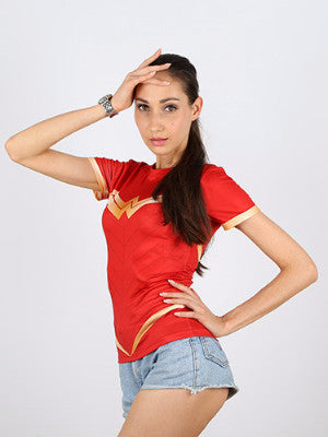 WONDER WOMAN T-SHIRT - FIREVOGUE