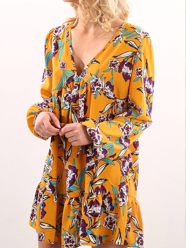 Bud Attitude Floral Dress