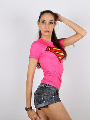 SUPER WOMAN T-SHIRT - FIREVOGUE
