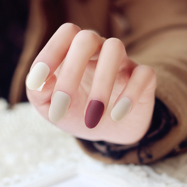 Elegant Matte False Nails/fake Nails - FIREVOGUE