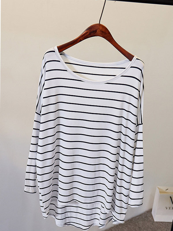 Keep it Simple Striped Top - FIREVOGUE