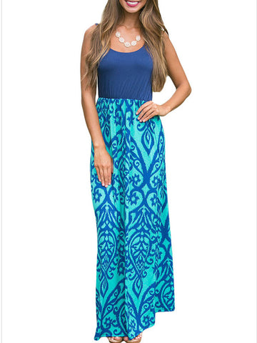 Here Comes the Printed Maxi Dress