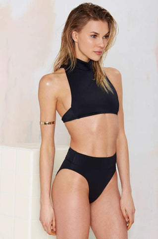 If Looks Could Kill High Waist Bikini Set - FIREVOGUE