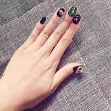 Vintage Style Turquoise False Nails/fake Nails - FIREVOGUE