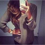 Loose Long-sleeved Pullover