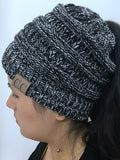 Matter Of Time Empty Top Knitted Hat