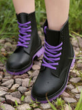Rain Rain Go Away Women's Lace-up Boots
