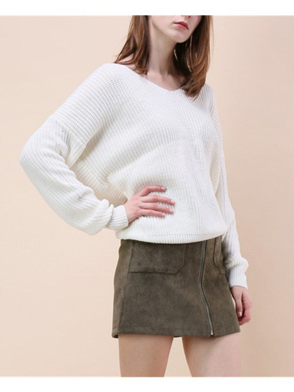 Warm And Wonderful Twist Casual Sweater